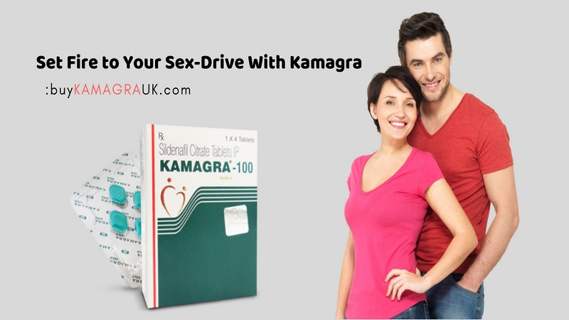Set Fire to Your Sex-Drive with Kamagra