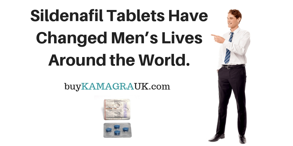Sildenafil Tablets Have Changed Mens Lives Around the World