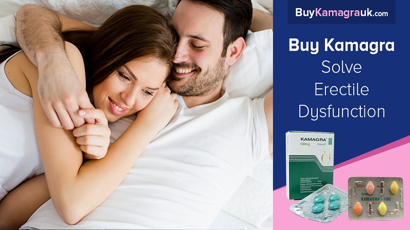 Kamagra is one of the Leading Treatment Options for Erectile Dysfunction