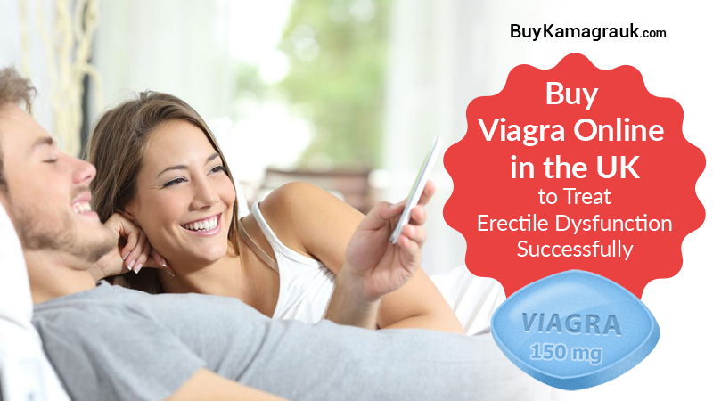 Buy Viagra Online in the UK to Treat Erectile Dysfunction Successfully
