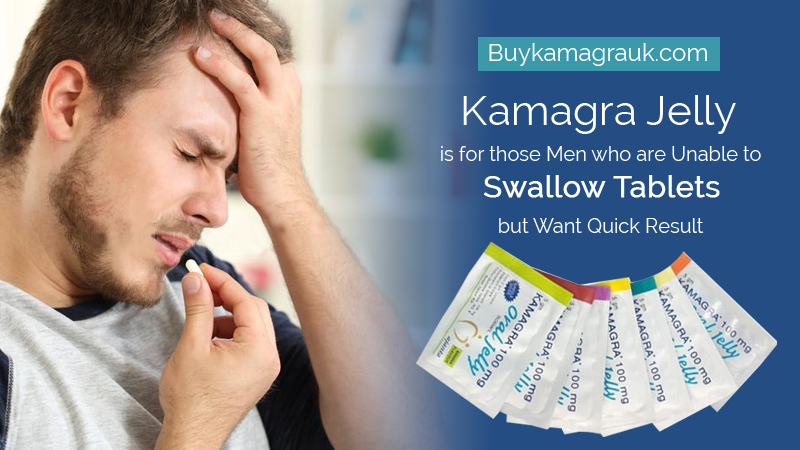 There is an Alternative to taking Pills for ED, Kamagra Jelly