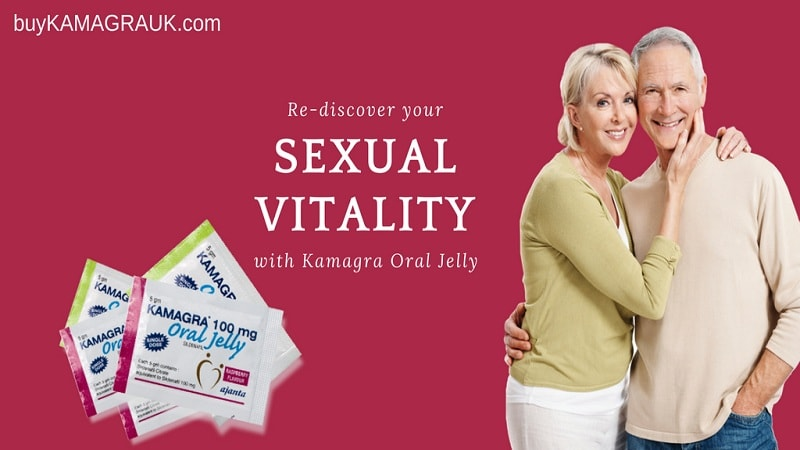 Re-discover your Sexual Vitality with Kamagra Oral Jelly