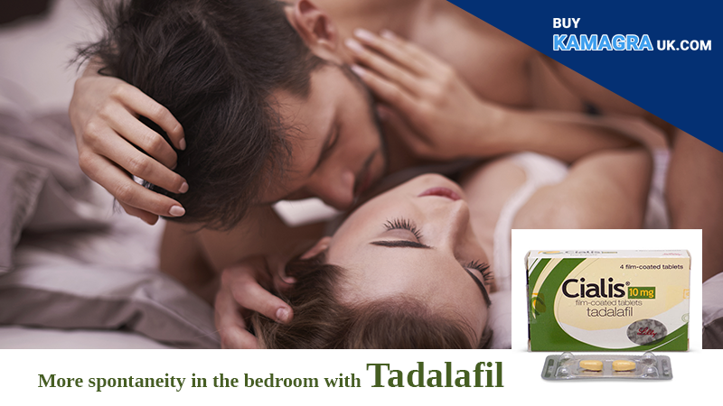 More Spontaneity in The Bedroom With Tadalafil UK Take Note!