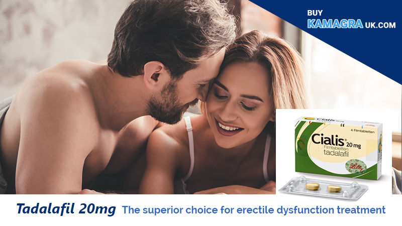Tadalafil 20mg: The Superior Choice for Erectile Dysfunction Treatment